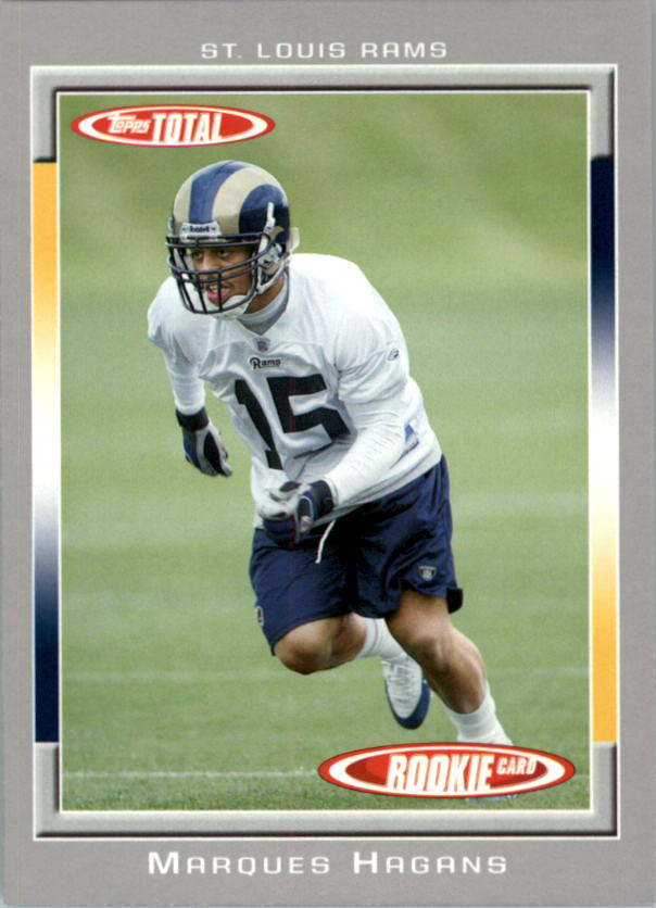 2006 Topps Total Silver #511 Marques Hagans