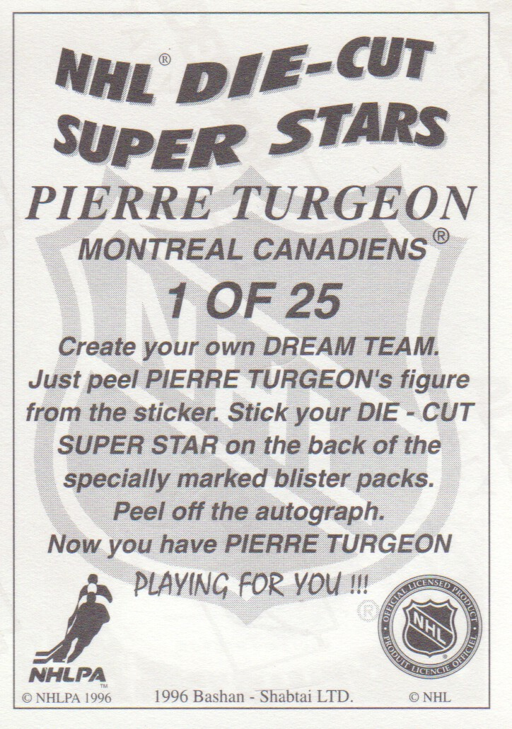 1995-96-Bashan-Imperial-Super-Stickers-Die-Cut-Hockey-Cards-Pick-From-List miniature 3