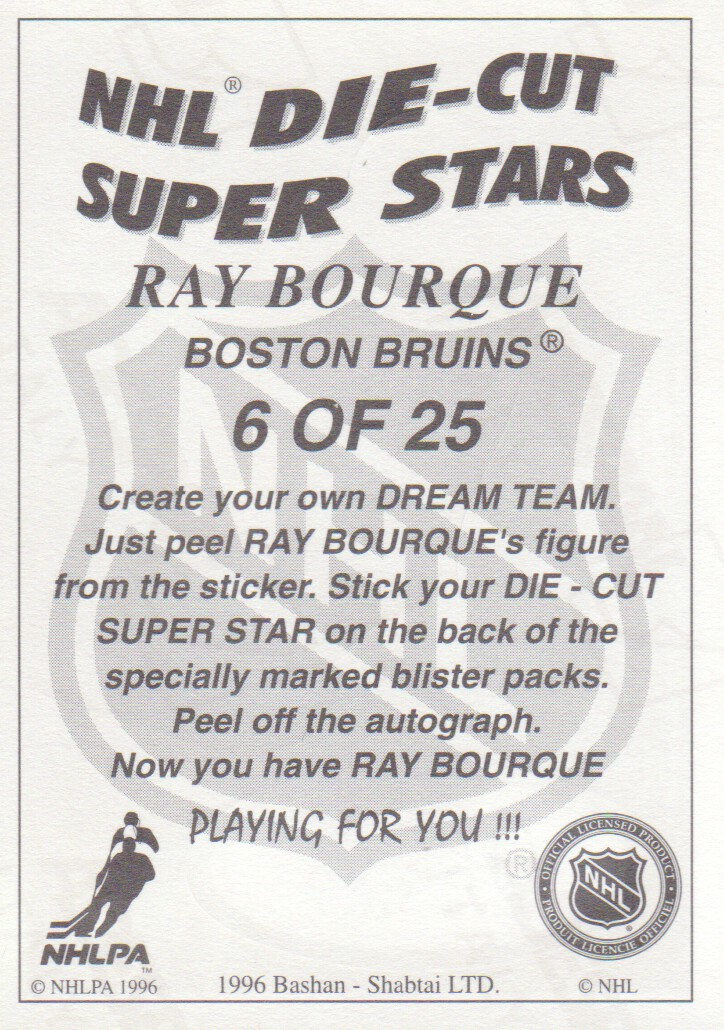 1995-96-Bashan-Imperial-Super-Stickers-Die-Cut-Hockey-Cards-Pick-From-List miniature 9