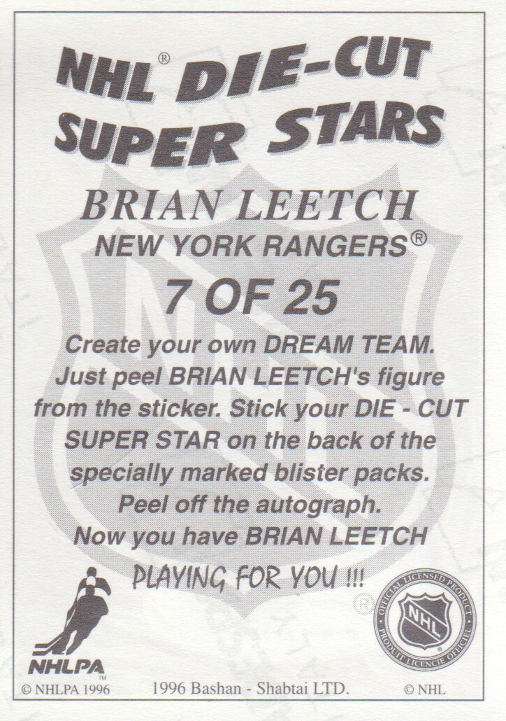 1995-96-Bashan-Imperial-Super-Stickers-Die-Cut-Hockey-Cards-Pick-From-List miniature 11