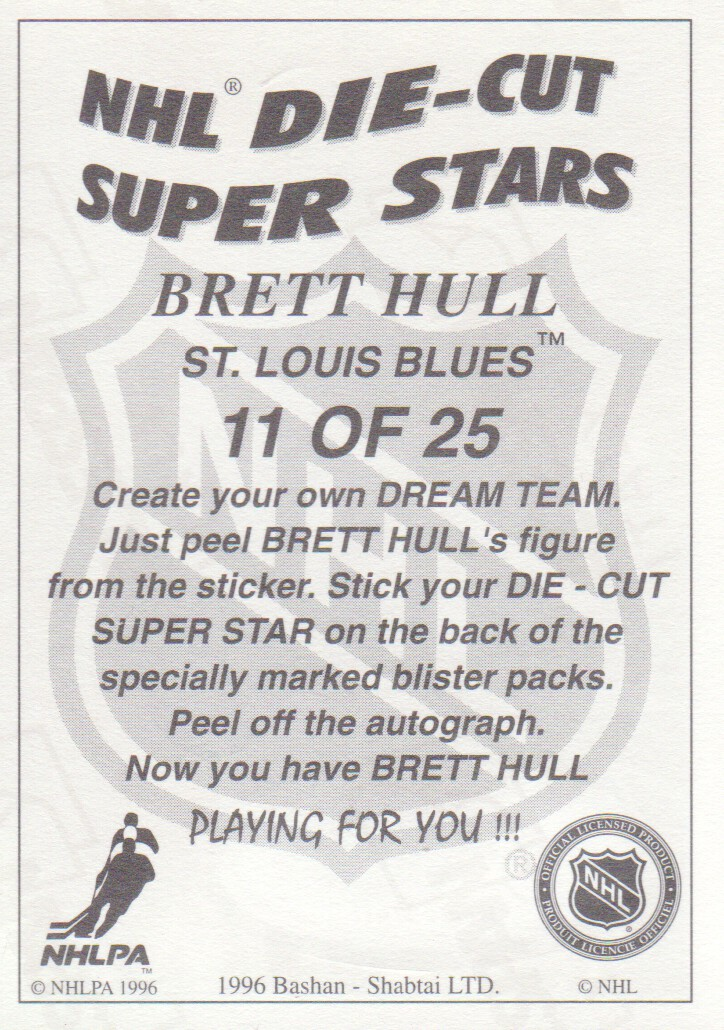 1995-96-Bashan-Imperial-Super-Stickers-Die-Cut-Hockey-Cards-Pick-From-List miniature 13