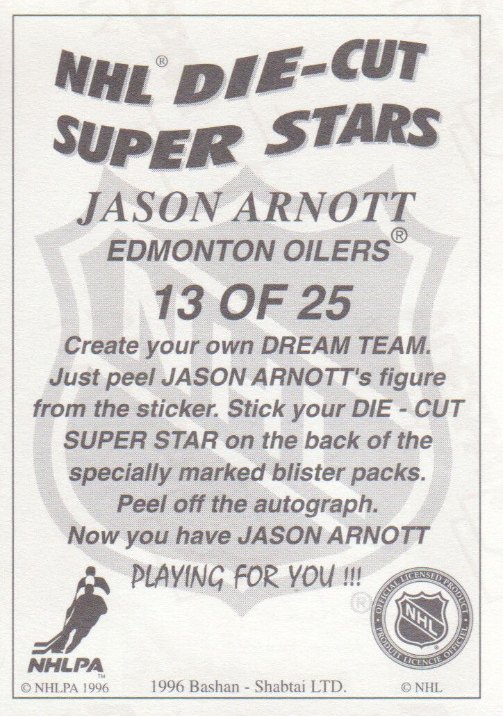 1995-96-Bashan-Imperial-Super-Stickers-Die-Cut-Hockey-Cards-Pick-From-List miniature 15