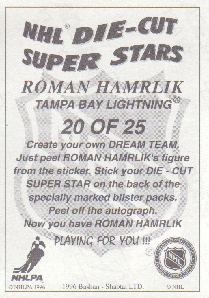 1995-96-Bashan-Imperial-Super-Stickers-Die-Cut-Hockey-Cards-Pick-From-List miniature 21