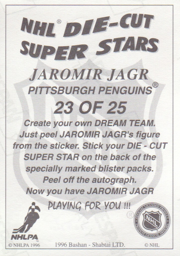 1995-96-Bashan-Imperial-Super-Stickers-Die-Cut-Hockey-Cards-Pick-From-List miniature 25