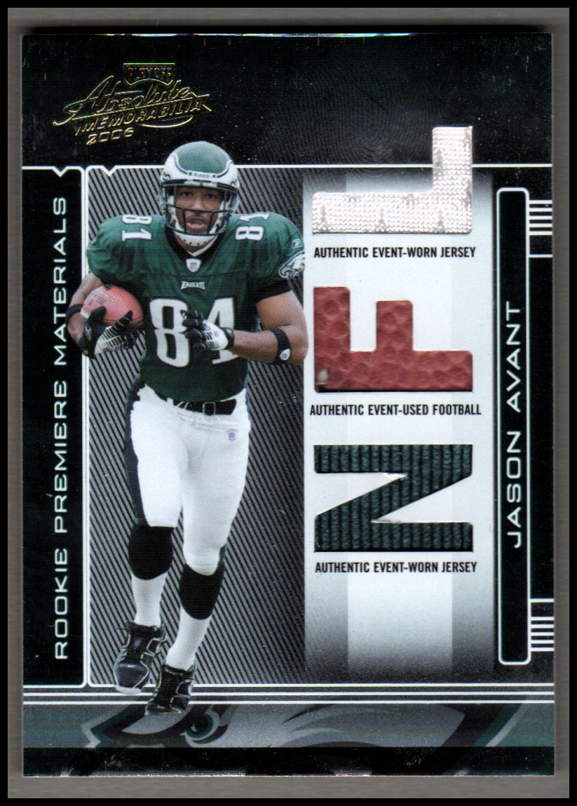 2006 Absolute Memorabilia #266 Jason Avant RPM RC