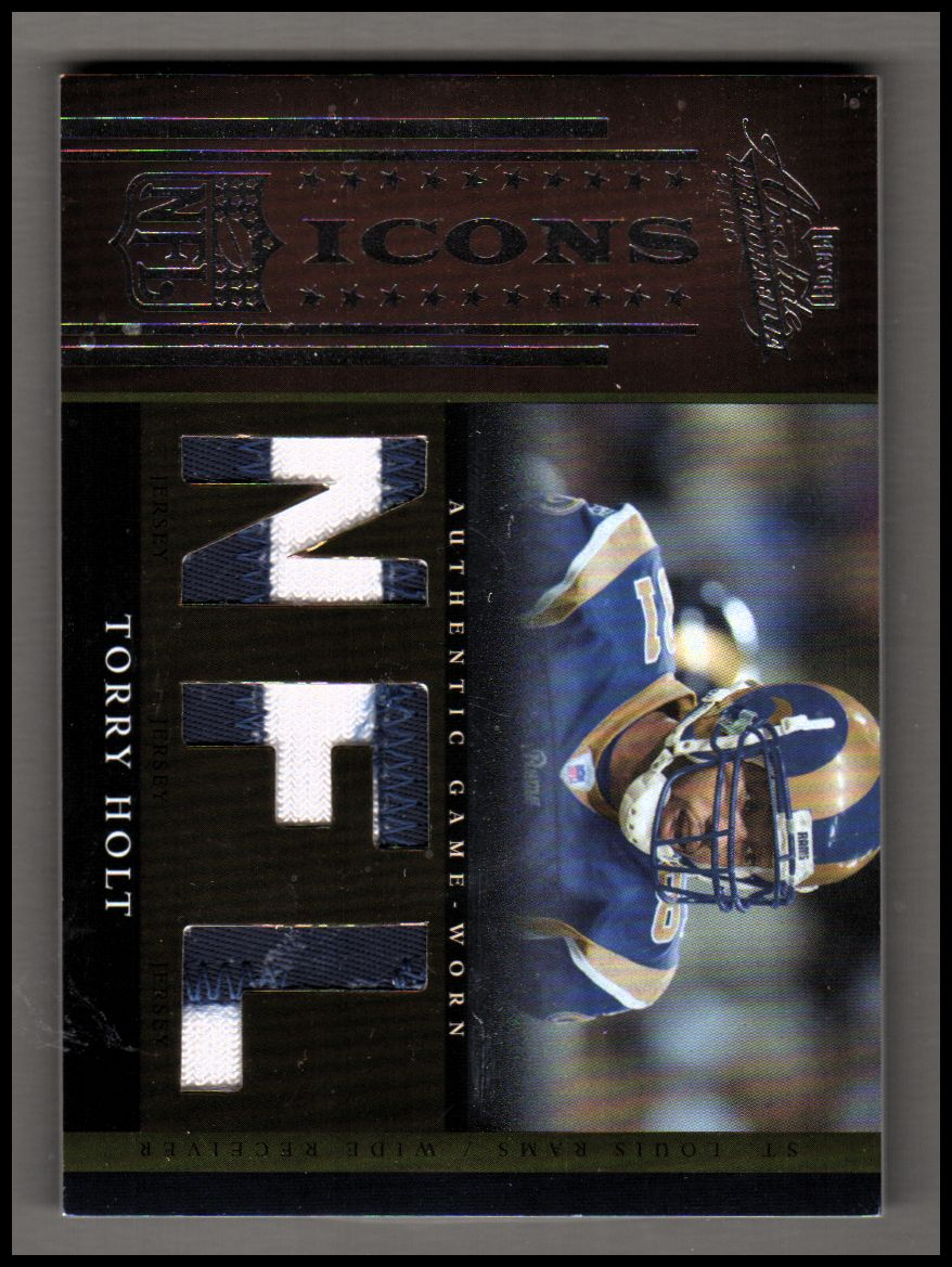 2006 Absolute Memorabilia NFL Icons Materials Prime #29 Torry Holt