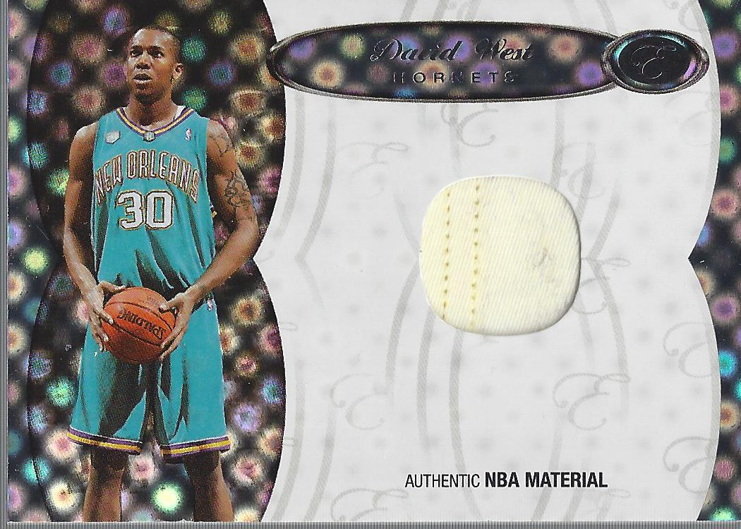 2006-07 Bowman Elevation Board of Directors Patches #PDW David West