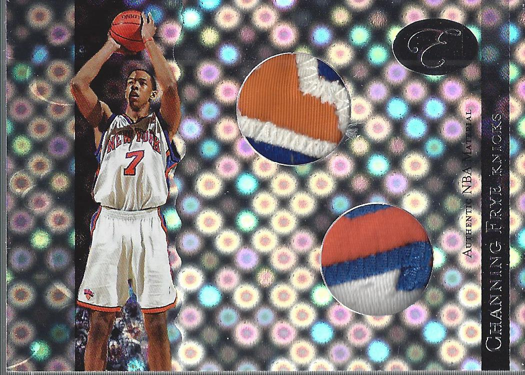 2006-07 Bowman Elevation Power Brokers Patches Dual #PCF Channing Frye