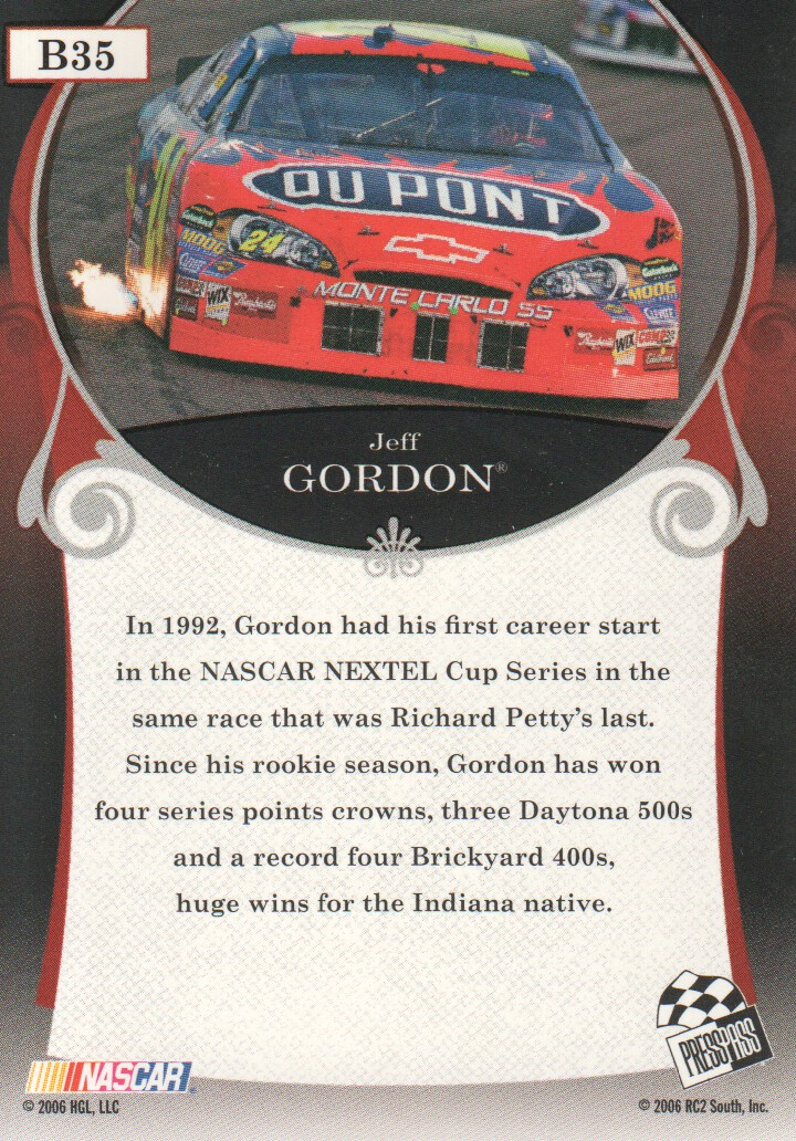 2006-Press-Pass-Legends-Parallels-NASCAR-Racing-Cards-Pick-From-List thumbnail 5