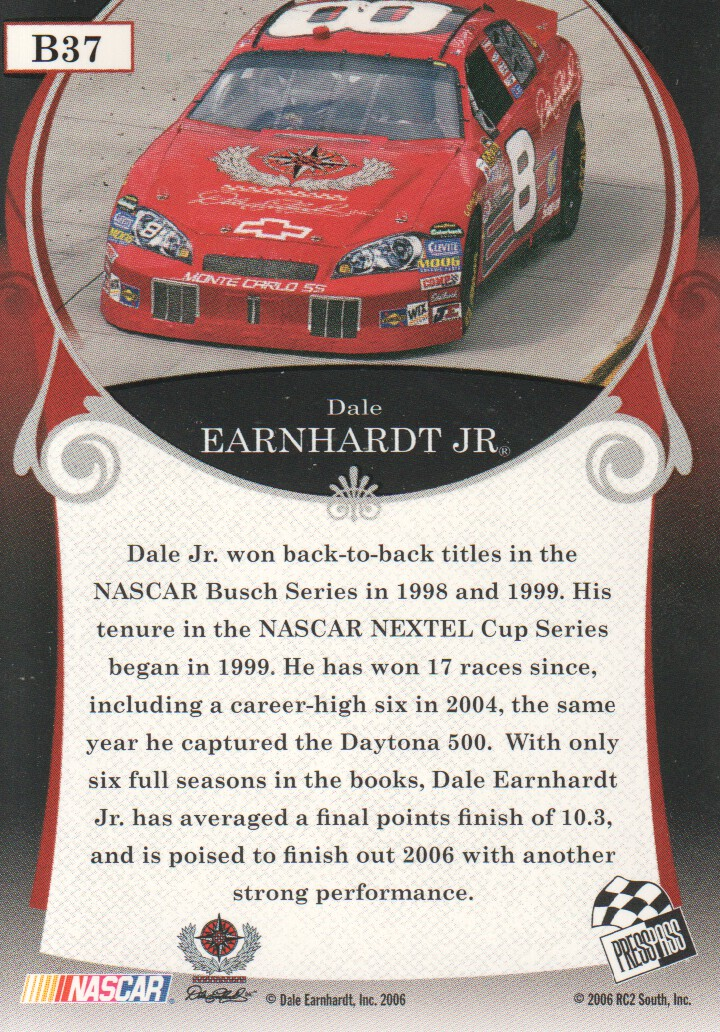 2006-Press-Pass-Legends-Parallels-NASCAR-Racing-Cards-Pick-From-List thumbnail 7