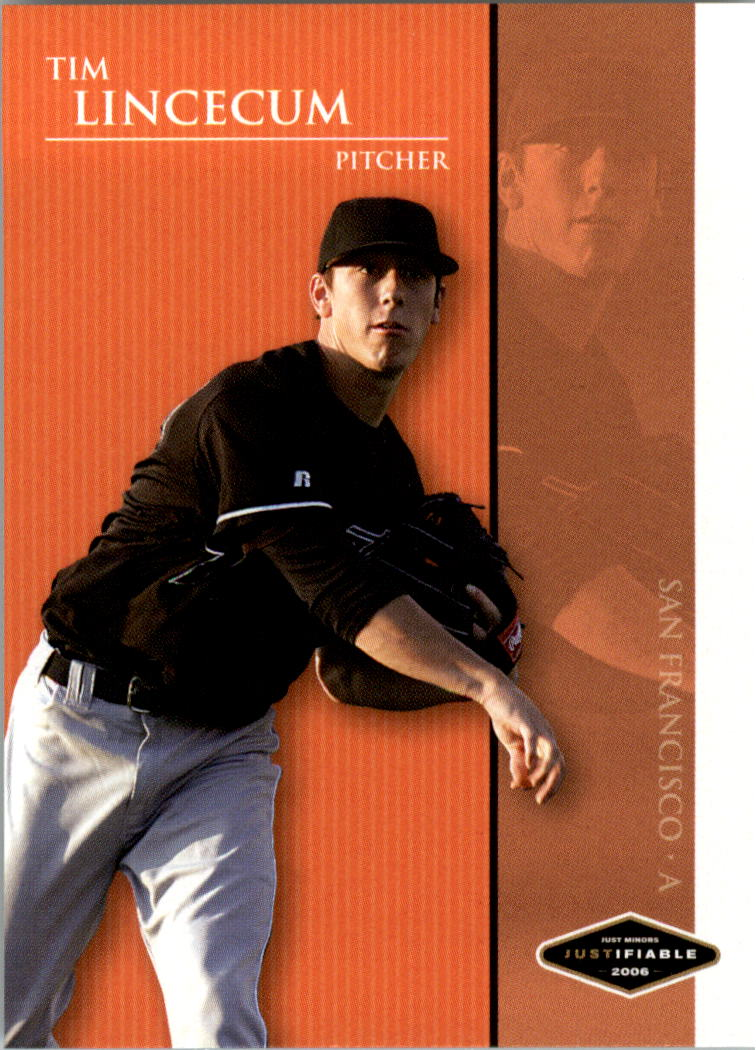 2006 Justifiable #22 Tim Lincecum