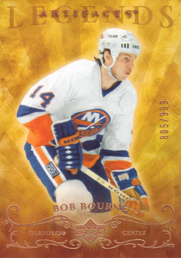 2006-07 Artifacts #103 Bob Bourne LEG