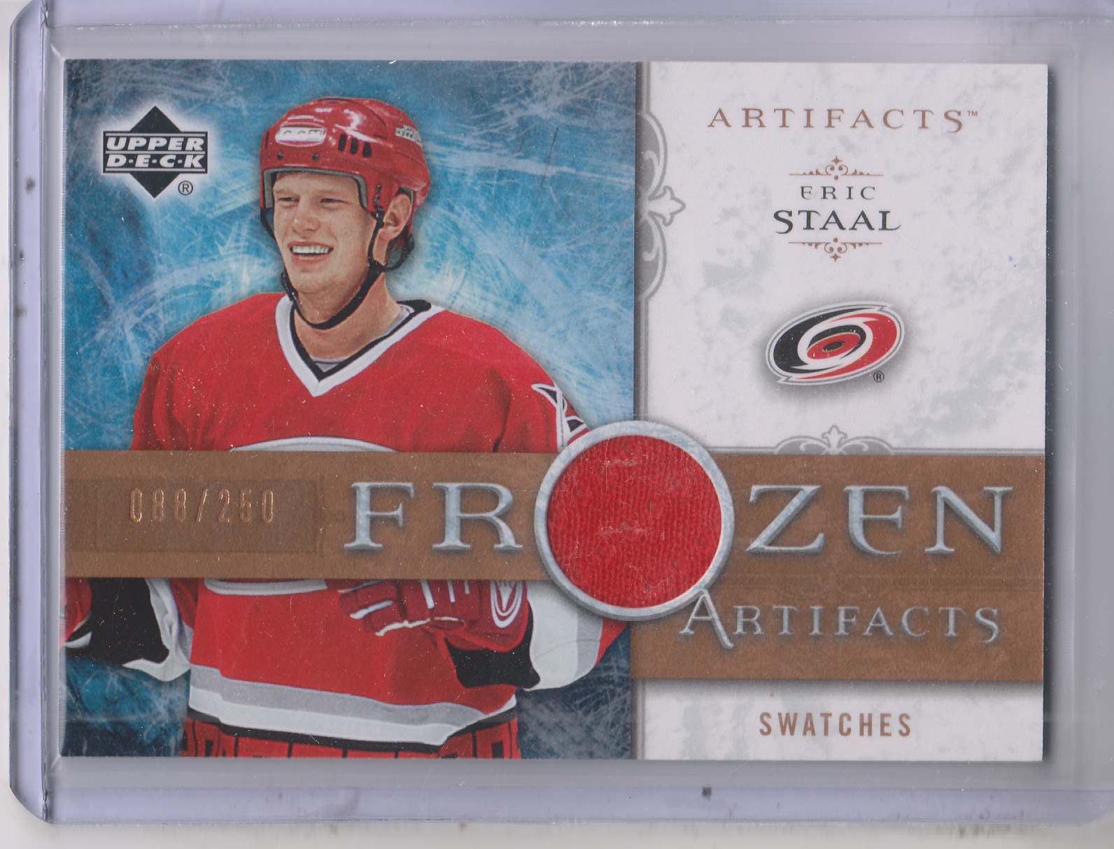 2006-07 Artifacts Frozen Artifacts #FAES Eric Staal