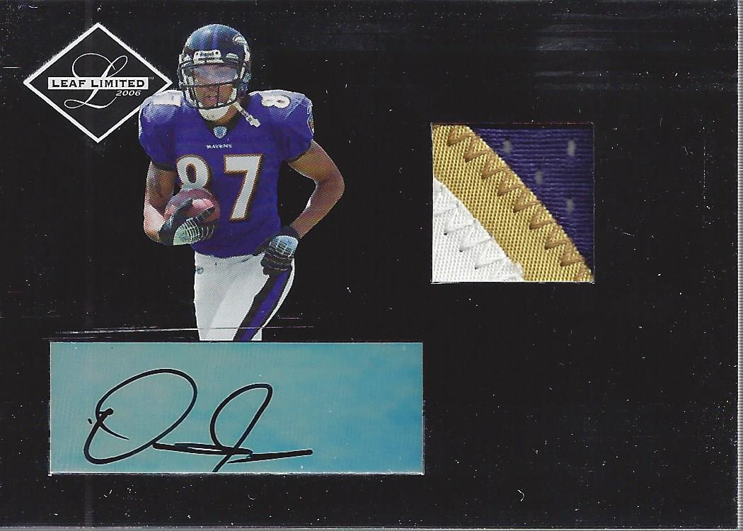 2006 Leaf Limited #282 Demetrius Williams JSY AU RC
