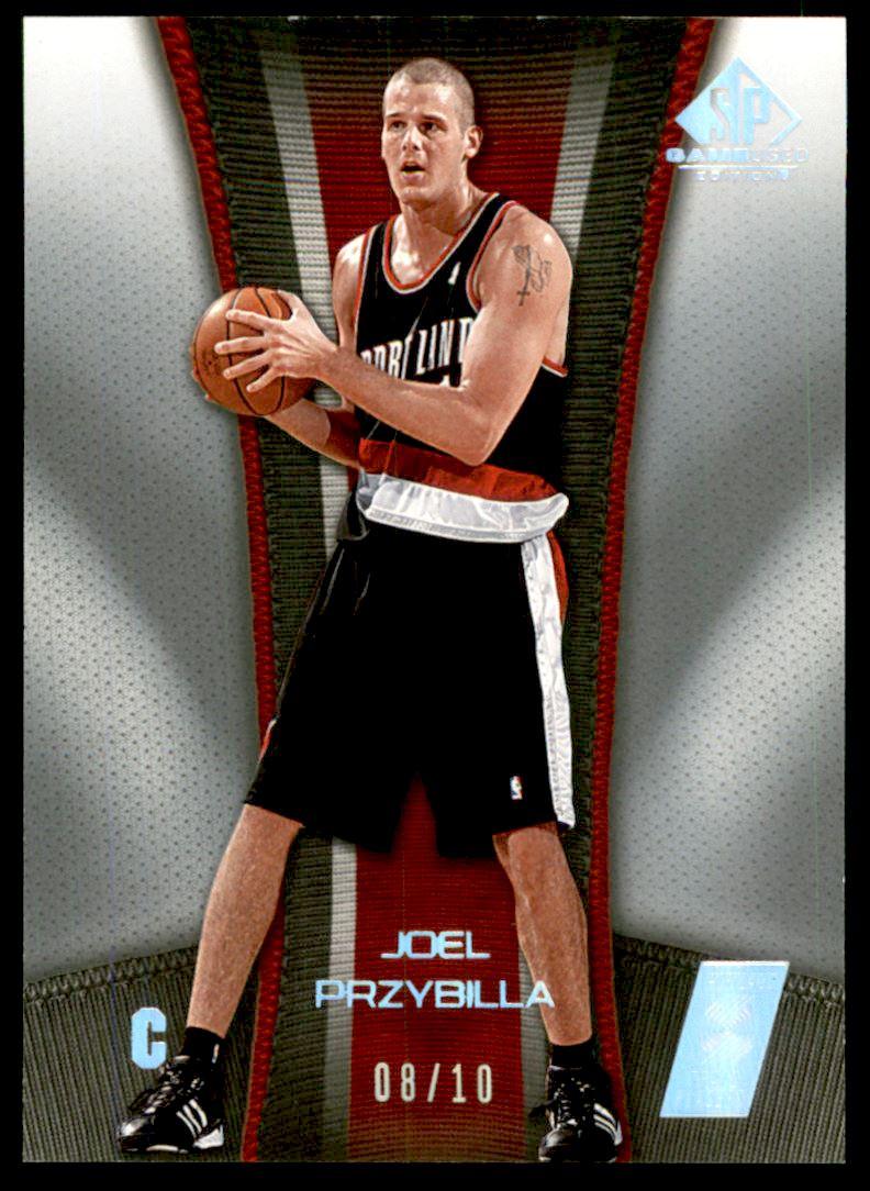 2006-07 SP Game Used Rainbow #79 Joel Przybilla