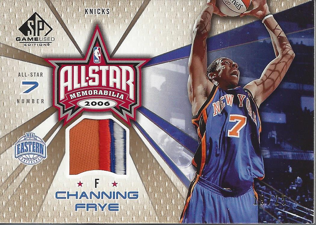 2006-07 SP Game Used All-Star Memorabilia Patches #CF Channing Frye