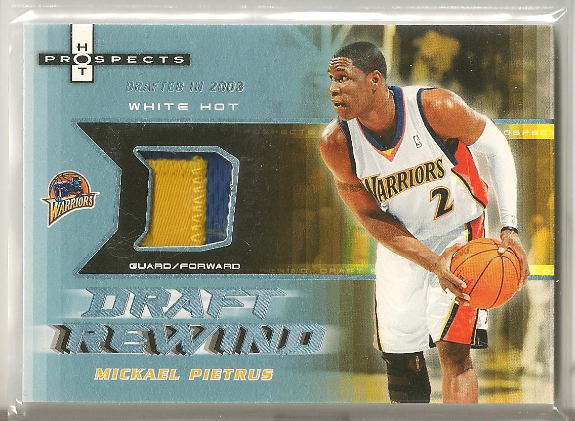 2006-07 Fleer Hot Prospects Draft Rewind Patches #MP Mickael Pietrus