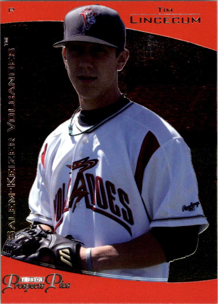2006 TRISTAR Prospects Plus #8 Tim Lincecum PD