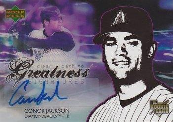 2006 Upper Deck Future Stars #89 Conor Jackson AU (RC)