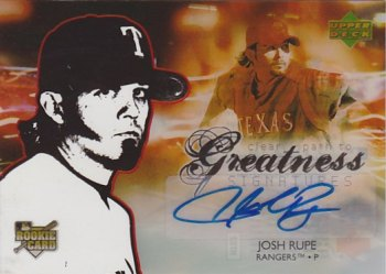 2006 Upper Deck Future Stars #115 Josh Rupe AU SP (RC)