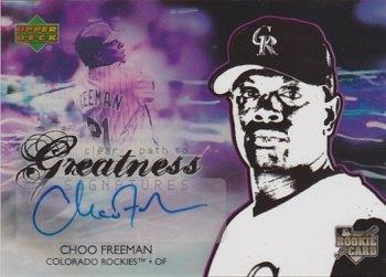 2006 Upper Deck Future Stars #156 Choo Freeman AU SP (RC)