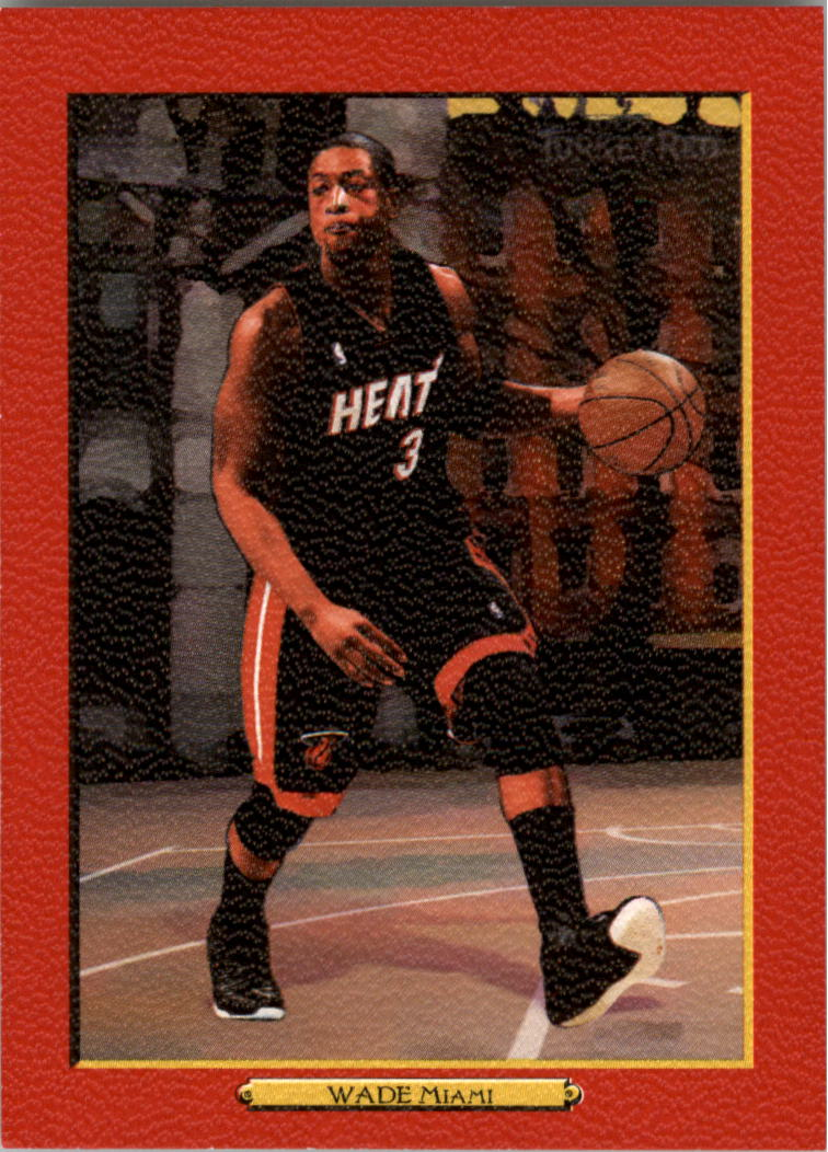 2006-07 Topps Turkey Red Red #1 Dwyane Wade