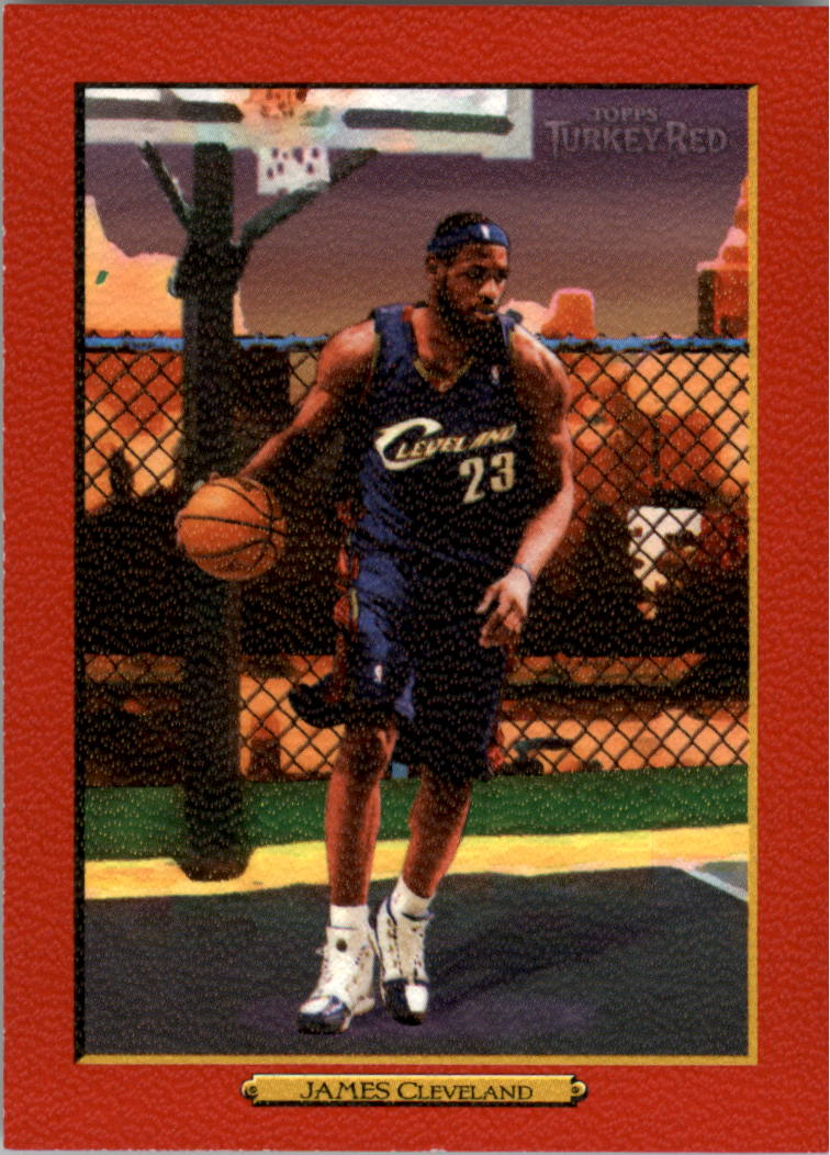 2006-07 Topps Turkey Red Red #2 LeBron James