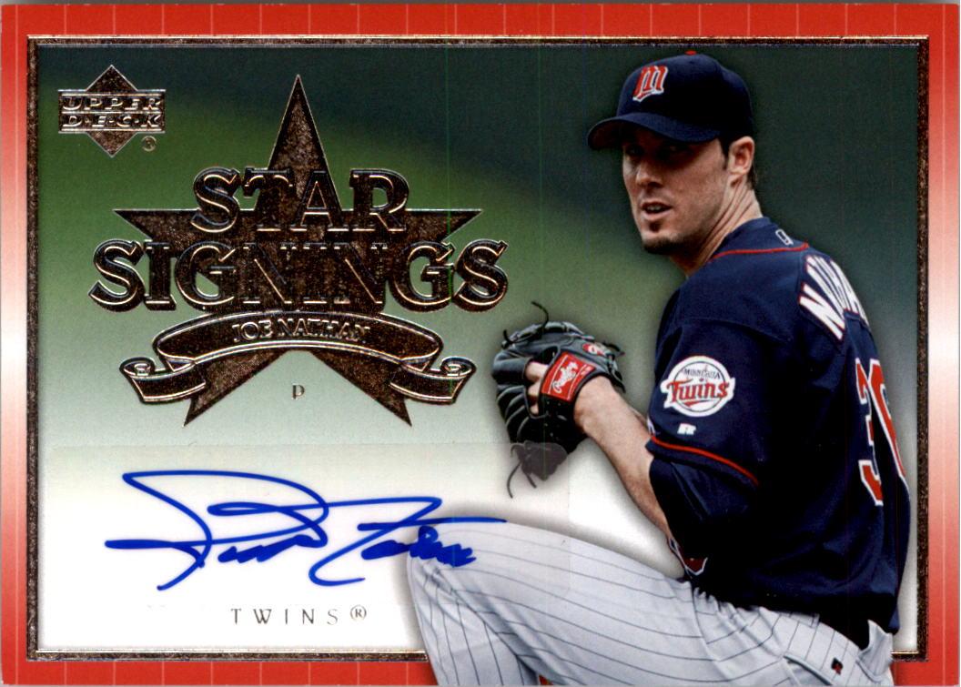 2009 Upper Deck Signature Stars Impressions Autographs #IMP-JN Joe Nathan Auto