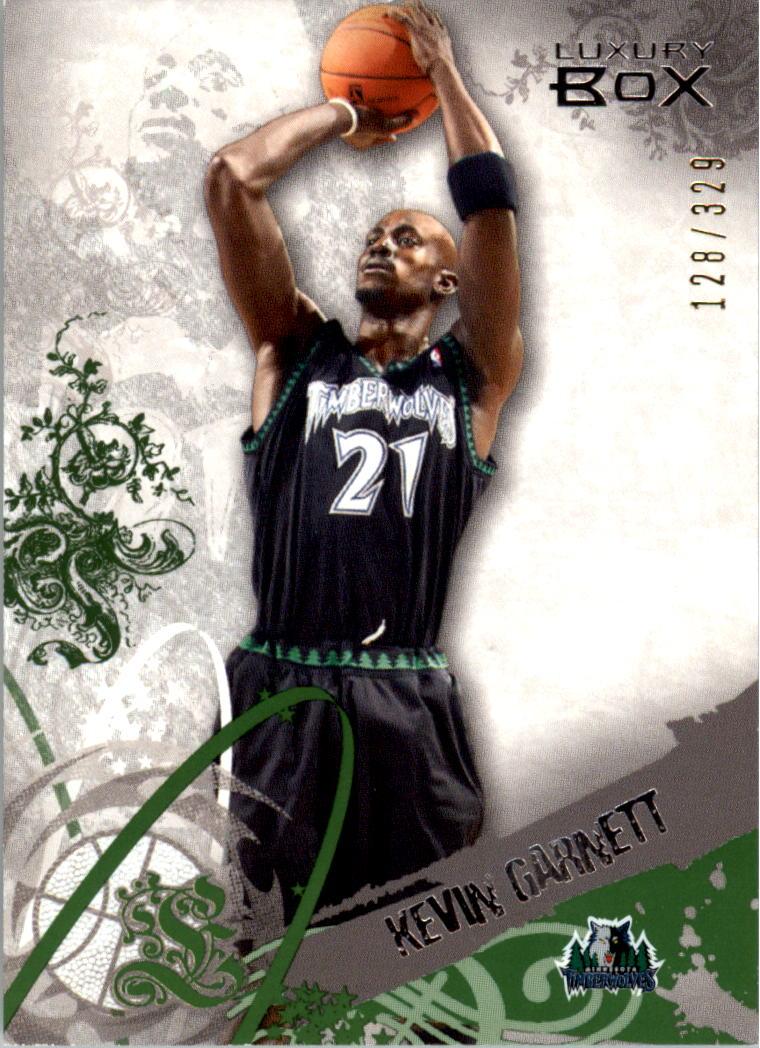 2006-07 Topps Luxury Box Green #21 Kevin Garnett