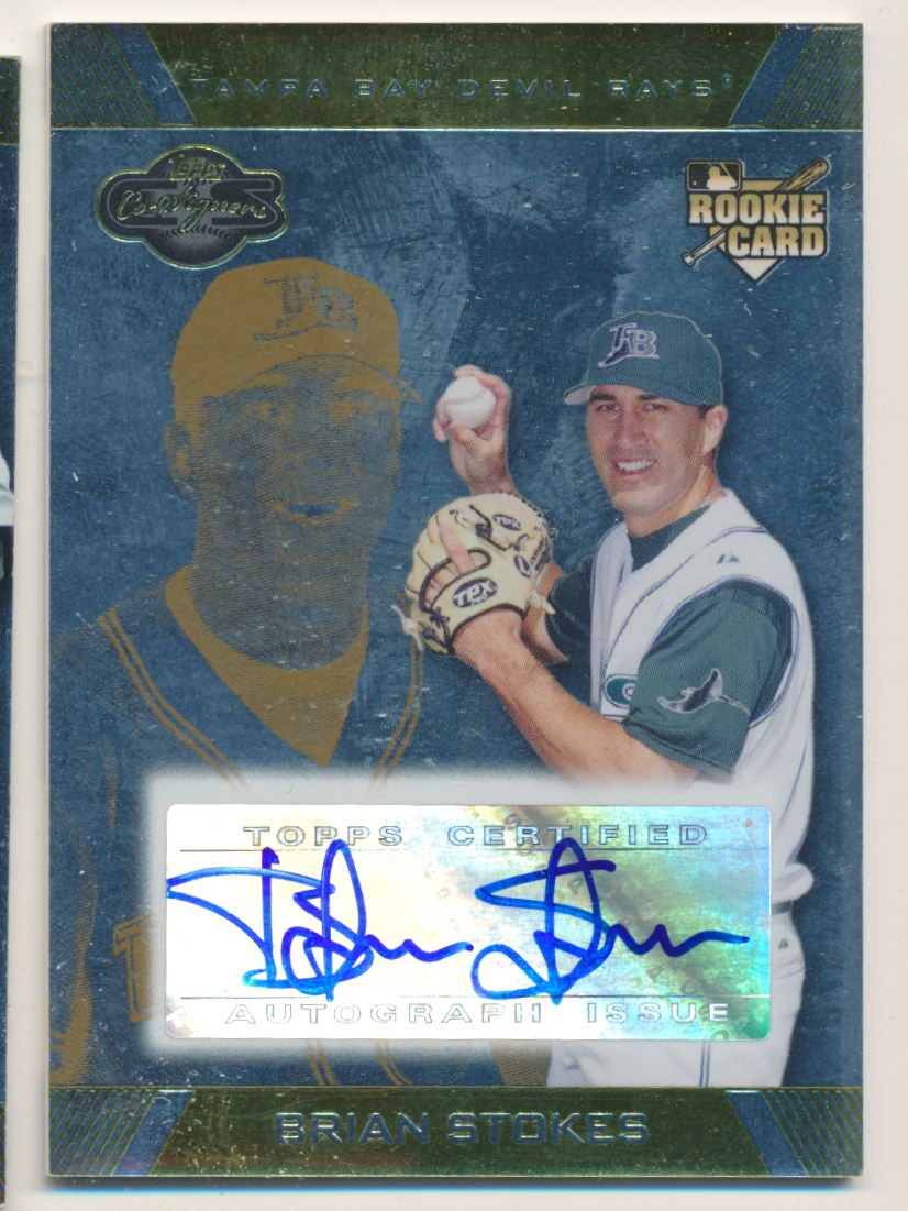 2007 Topps Co-Signers Silver Gold #112 Brian Stokes AU