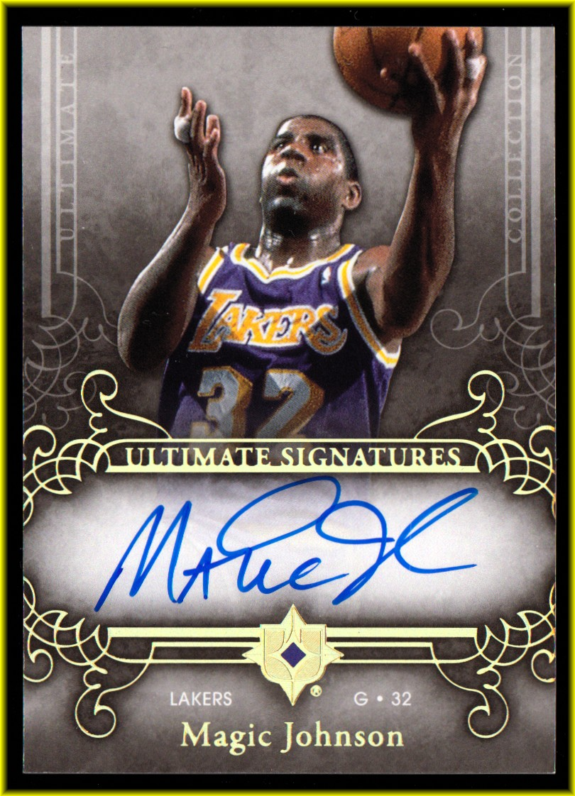 2006-07 Ultimate Collection Signatures #USMG Magic Johnson