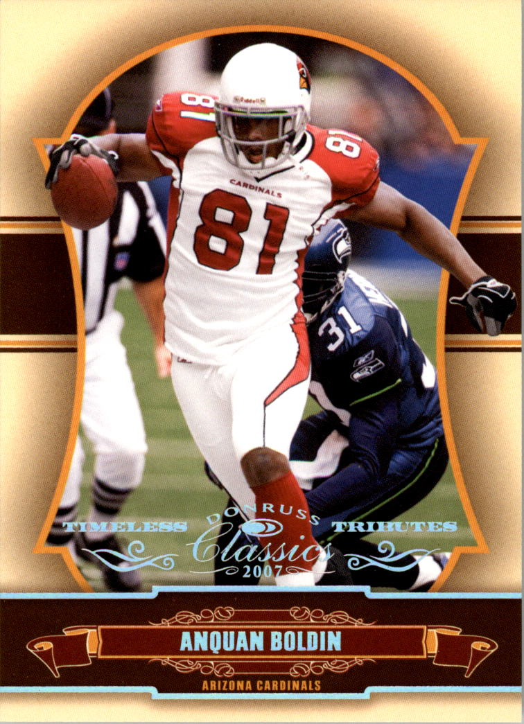 2007 Donruss Classics Timeless Tributes Silver #1 Anquan Boldin