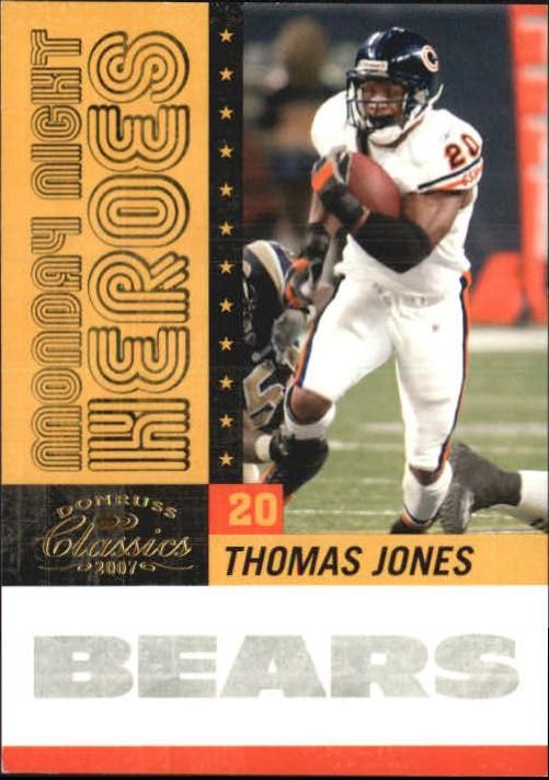 2007 Donruss Classics Monday Night Heroes Gold #26 Thomas Jones