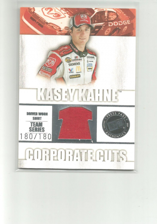 2007 Traks Corporate Cuts Team #CCT2 Kasey Kahne
