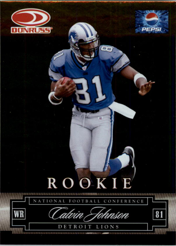 2007 Donruss Pepsi National Convention #4 Calvin Johnson