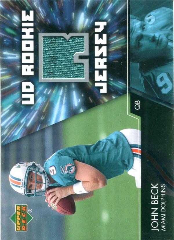 2007 Upper Deck Rookie Jerseys #JB John Beck
