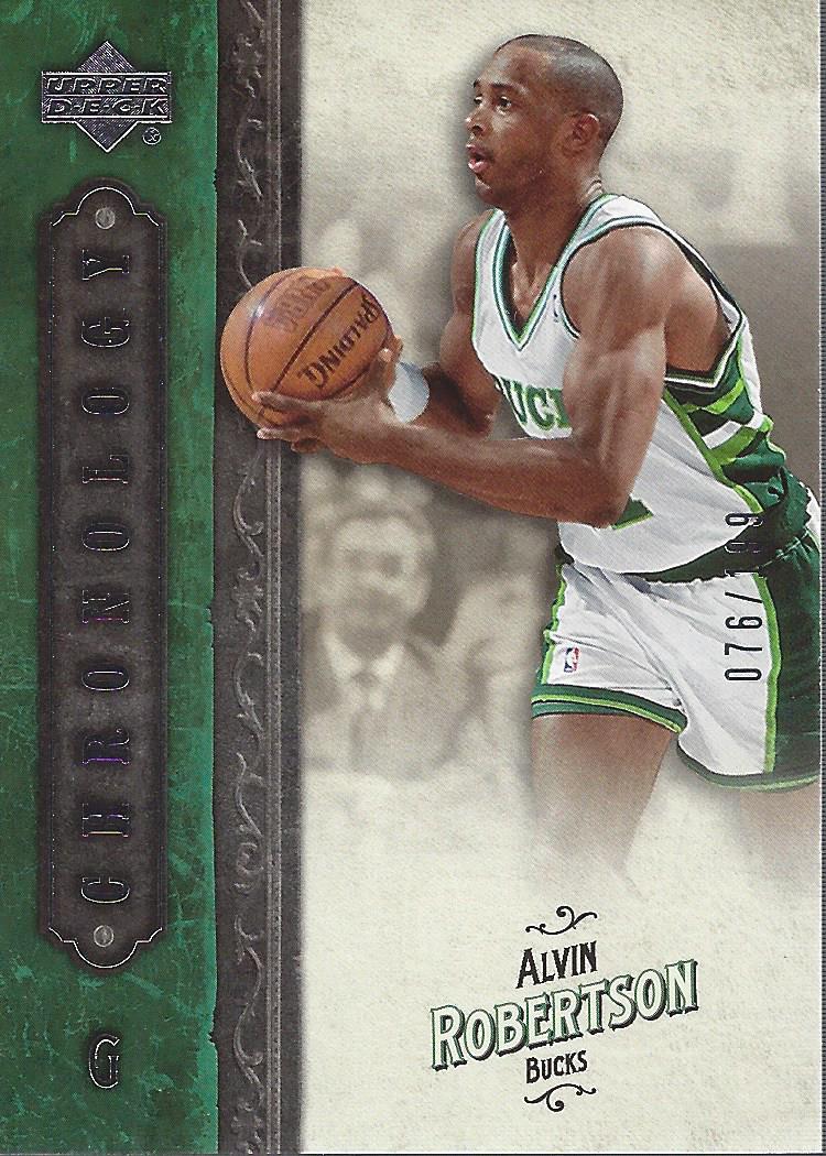 2006-07 Chronology #4 Alvin Robertson