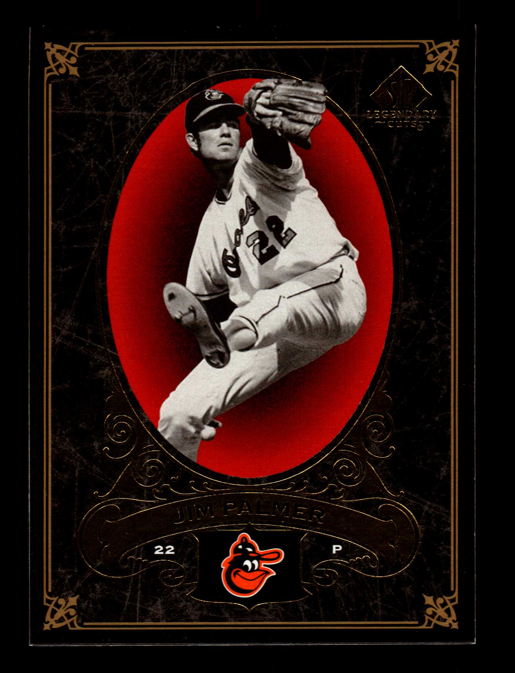 2007 SP Legendary Cuts #4 Jim Palmer