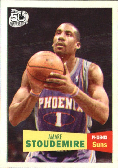2007-08 Topps 1957-58 Variations #1 Amare Stoudemire