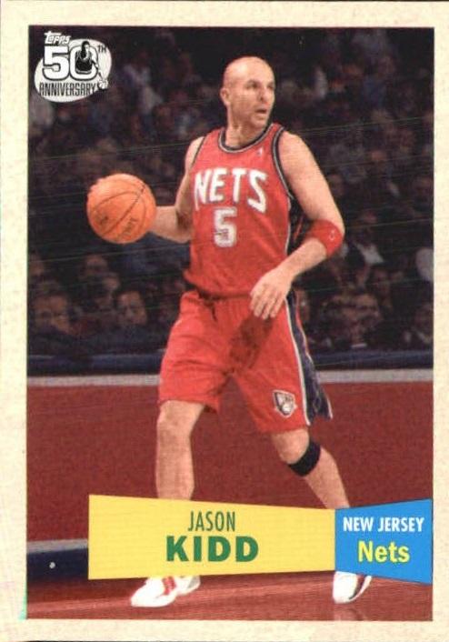 2007-08 Topps 1957-58 Variations #5 Jason Kidd