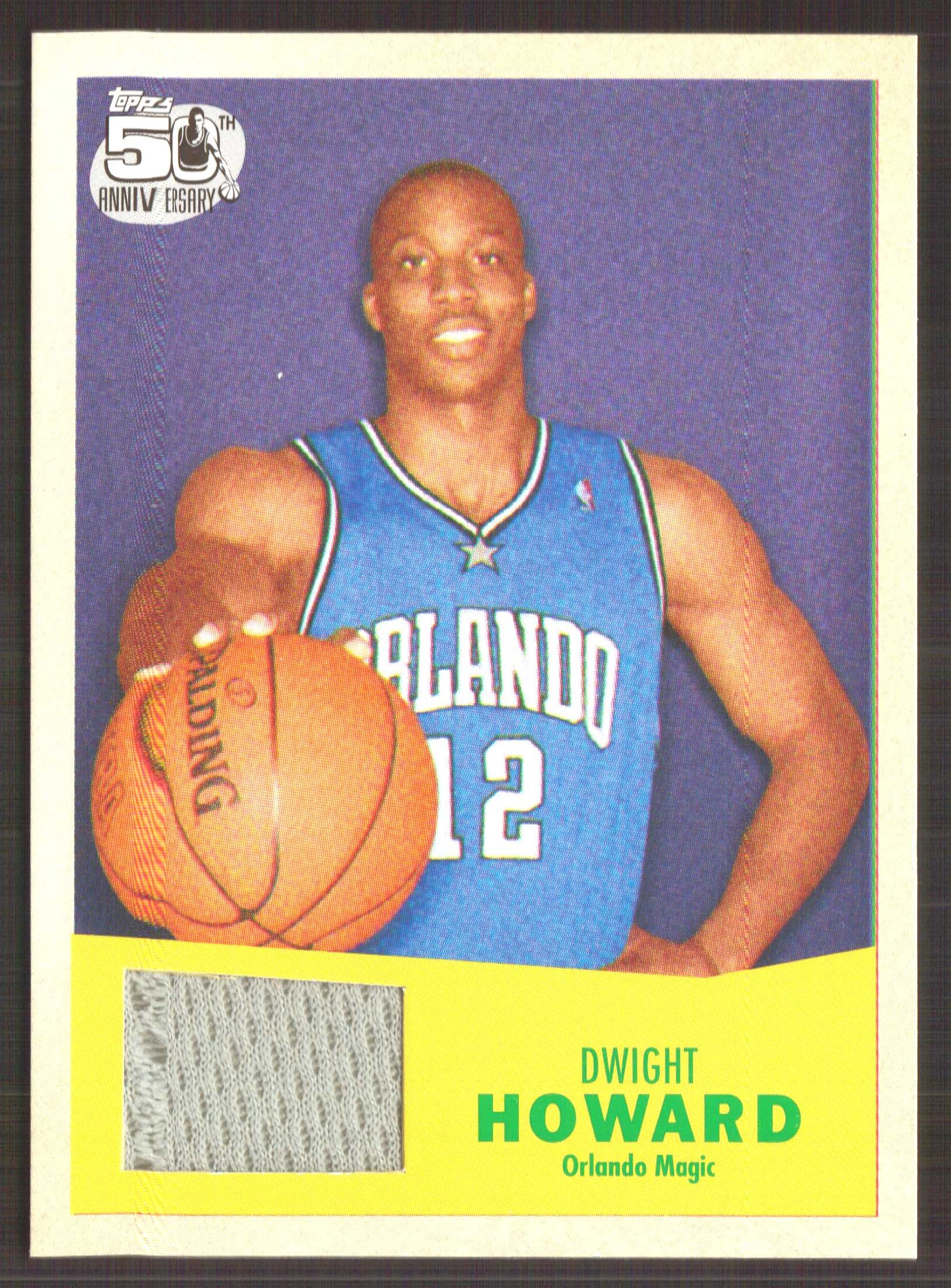 5d3a19f33 2007-08 Topps 1957-58 Variations Relics  14 Dwight Howard