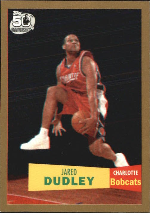 2007-08 Topps 1957-58 Variations Gold #132 Jared Dudley