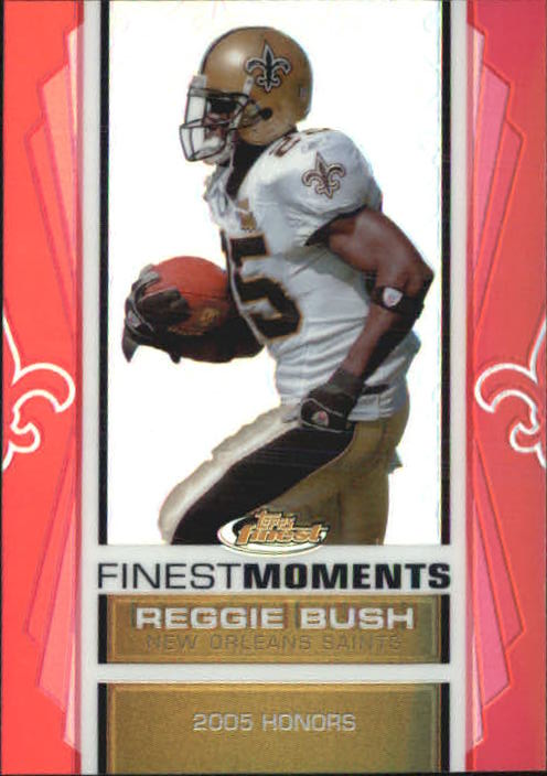 2007 Finest Reggie Bush Finest Moments Refractors #7 Reggie Bush