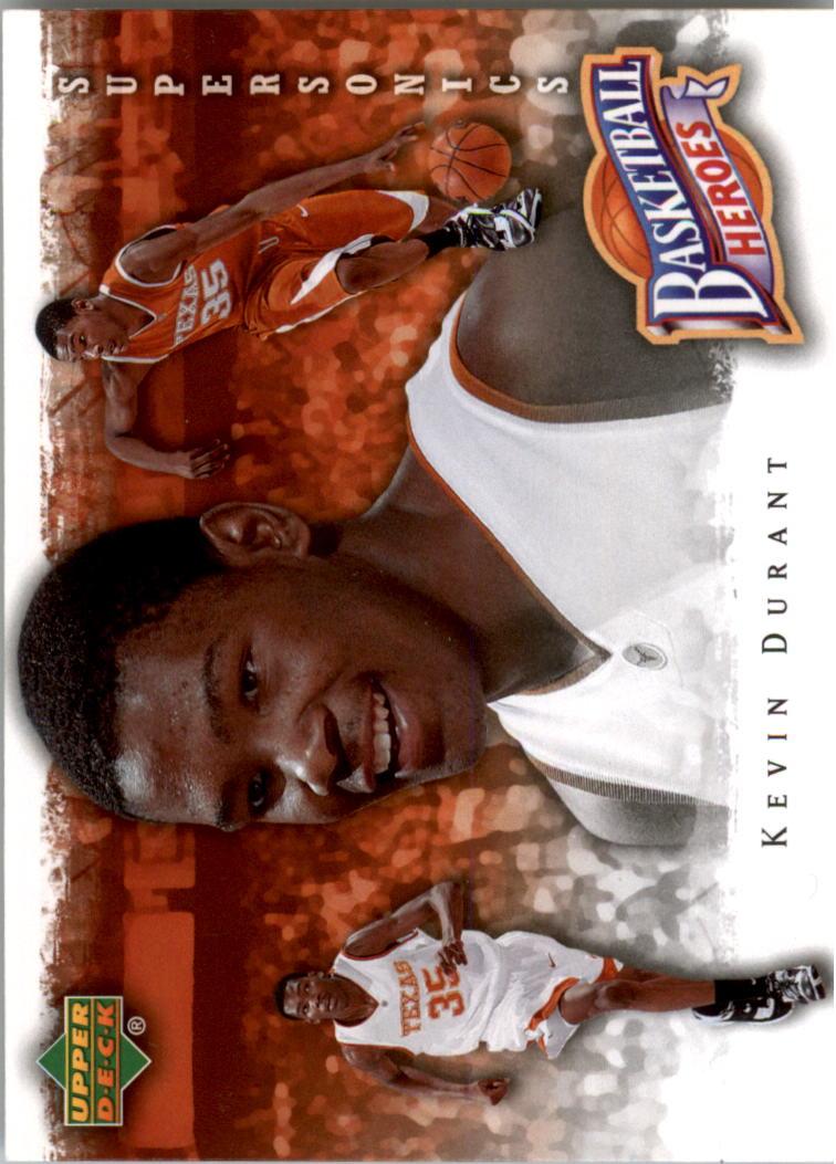 2007-08 Upper Deck NBA Heroes #KD6 Kevin Durant