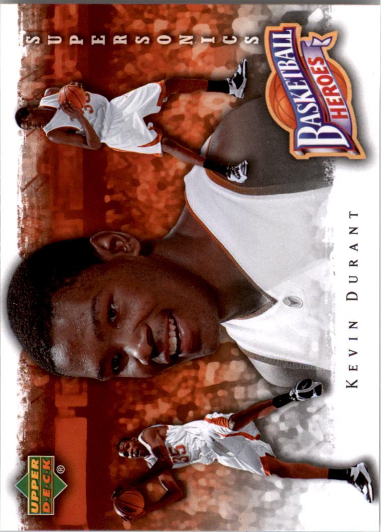 2007-08 Upper Deck NBA Heroes #KD7 Kevin Durant