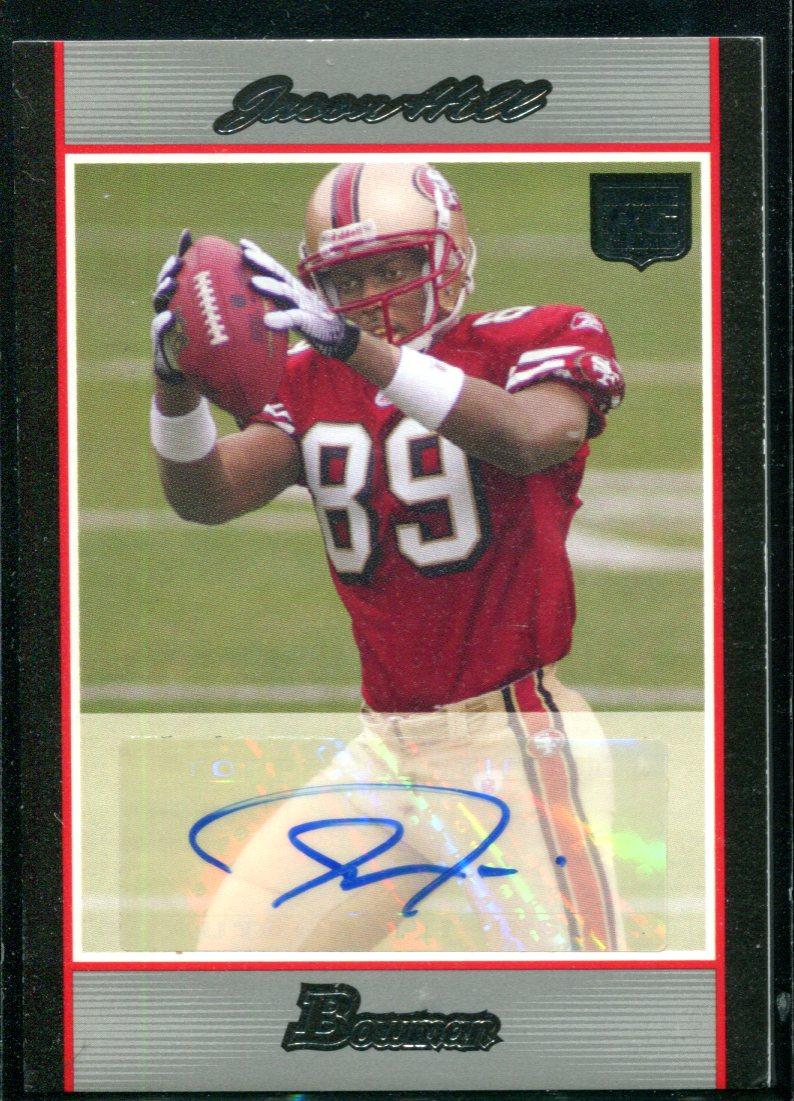 2007 Bowman Rookie Autographs #BAVJH Jason Hill/199
