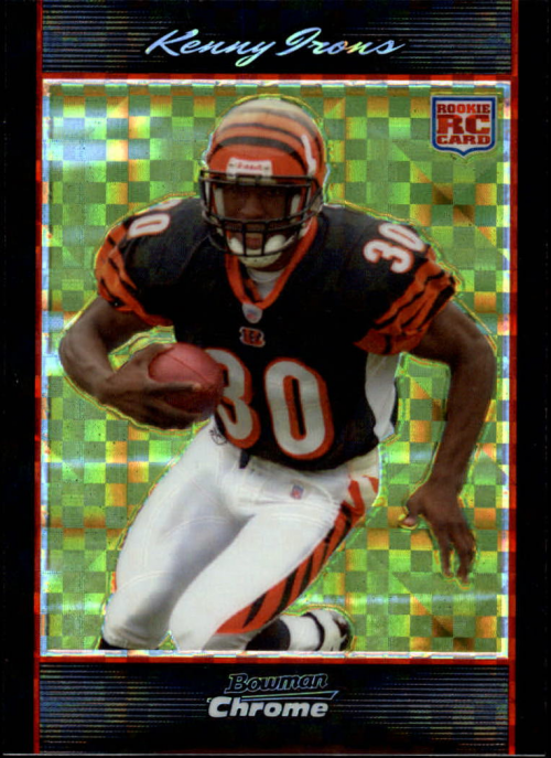 2007 Bowman Chrome Xfractors #BC1 Kenny Irons
