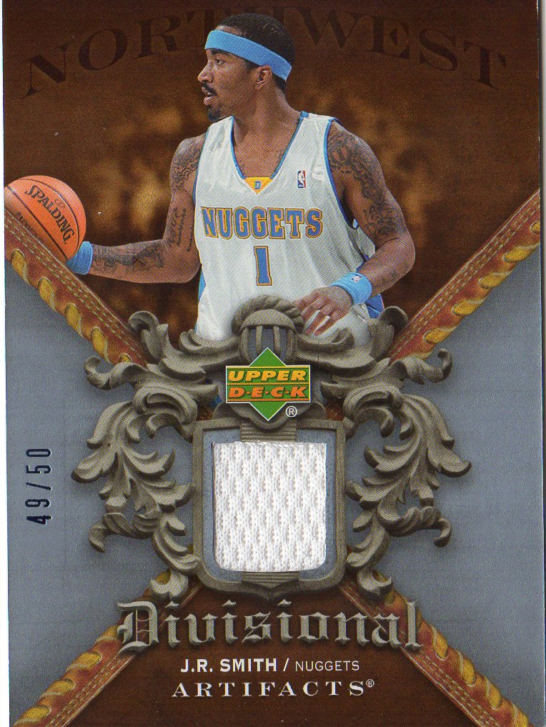 2007-08 Artifacts Divisional Artifacts Blue #DATH J.R. Smith