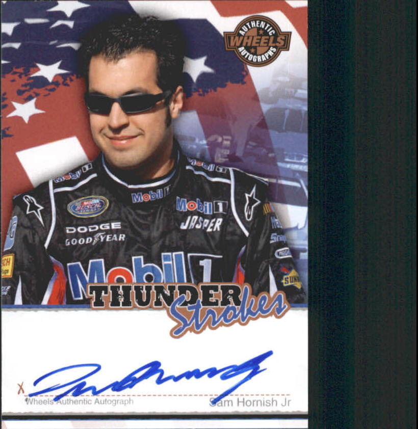 2007 Wheels American Thunder Thunder Strokes #19 Sam Hornish Jr.