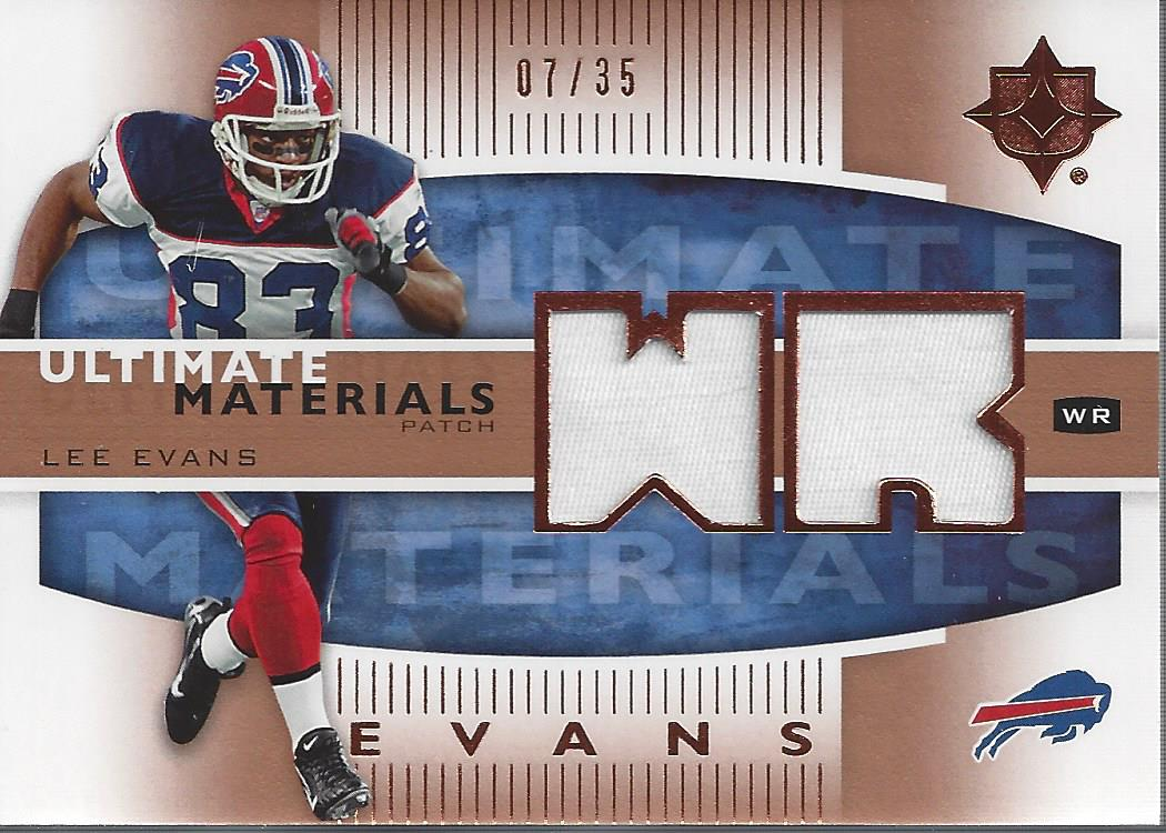 2007 Ultimate Collection Materials Patches #UMLE Lee Evans